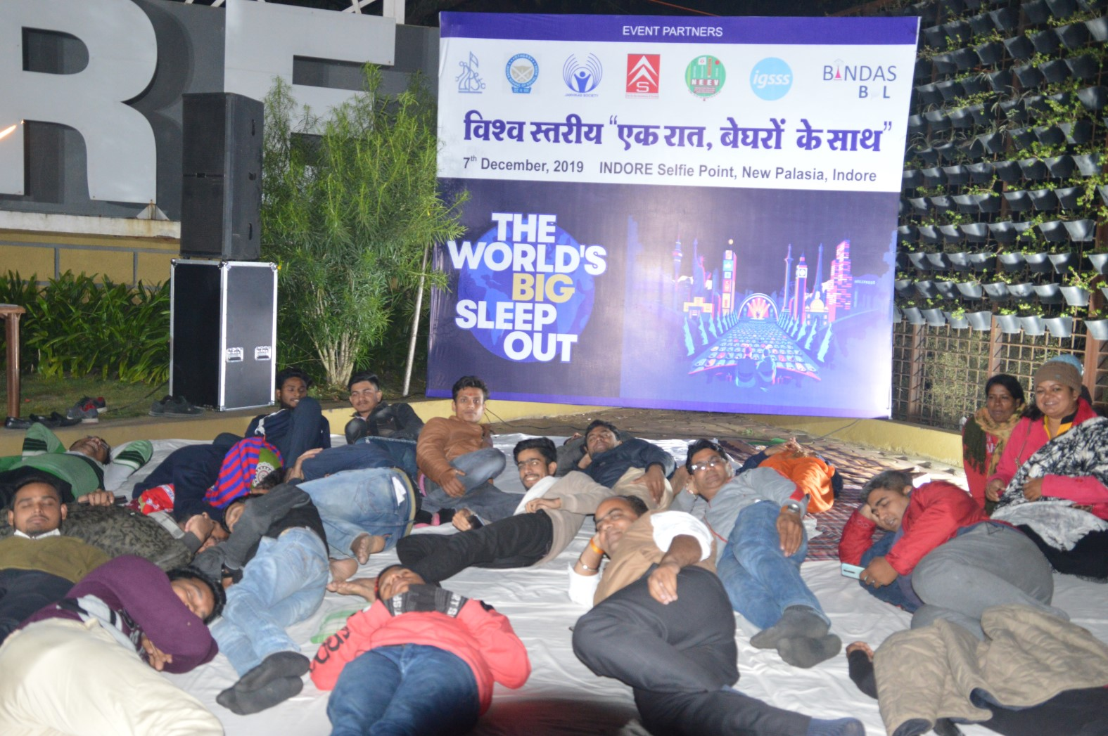 The World's Big Sleep Out Event