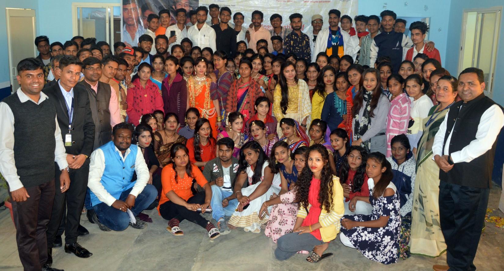 Inauguration of 8th Batch of Skill Training